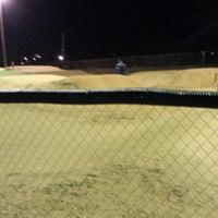 Photo taken at Catcus Park BMX by Nanc D. on 1/21/2014