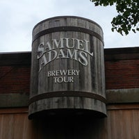 Photo taken at Samuel Adams Brewery by David A. on 7/26/2013