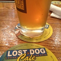 Photo taken at Lost Dog Cafe by Jason P. on 12/27/2012