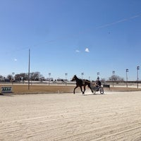 Photo taken at Maywood Park Racetrack by Tim A. on 4/2/2013
