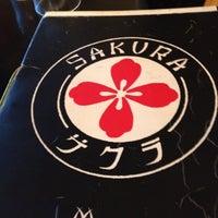 Photo taken at Sakura by Chris B. on 6/12/2012