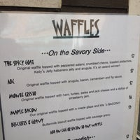Photo taken at The Gaufre Gourmet by Ryan J. on 3/14/2014