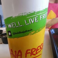Photo taken at Baja Fresh Mexican Grill by Mike S. on 3/30/2014
