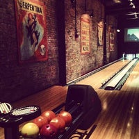 Photo taken at Brooklyn Bowl by Mary Elise Chavez on 4/13/2013