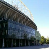 Photo taken at Ernst-Happel-Stadion by Chris T. on 6/13/2013