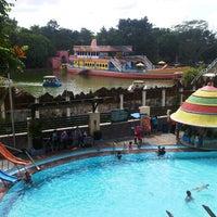 Photo taken at Taman Rekreasi Sengkaling by Nurul F. on 3/9/2014