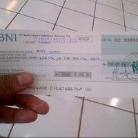 Photo taken at Bank BNI by Deden I. on 12/3/2012