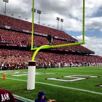 Photo taken at Kyle Field by Omarr C. on 10/21/2012