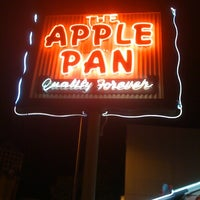 Photo taken at The Apple Pan by Guy S. on 12/1/2012