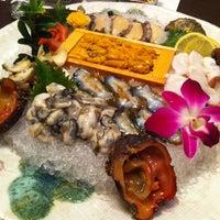 Photo taken at Sushi K by Shawn P. on 1/16/2013