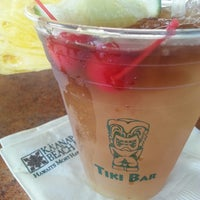 Photo taken at Tiki Bar by Rebecca R. on 8/24/2014