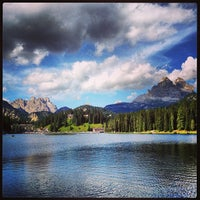 Photo taken at Lago di Misurina by Massimo C. on 8/16/2013