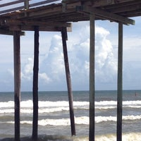 Photo taken at Avon Fishing Pier by marfdrat F. on 7/11/2013