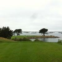 Photo taken at Club de Golf La Toja by Bruno R. on 7/19/2013