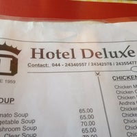 Photo taken at Hotel Deluxe by Pradeep K. on 1/10/2013