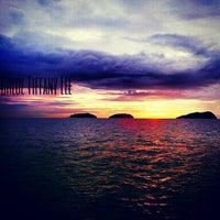 Photo taken at Manukan Island by ChloeTiffany L. on 1/17/2013