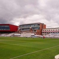 Photo taken at Emirates Old Trafford by Michael H. on 5/8/2013