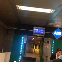 Photo taken at Gate A19 by Alessandro O. on 8/12/2016
