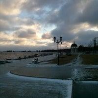 Photo taken at Морской причал by Roman on 11/29/2013