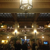 Photo taken at The Davenport Hotel by Stephanie C. on 11/25/2012