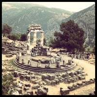 Photo taken at Archaeological Site of Delphi by Míguel H. on 9/2/2013