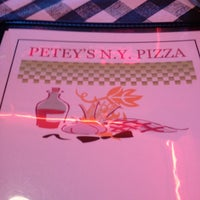 Photo taken at Petey's NY Pizza by Chris B. on 4/20/2013