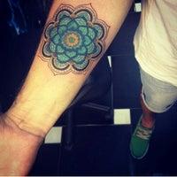 Photo taken at Cia da Tattoo by ZIM G. on 12/3/2013