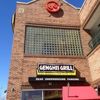 Photo taken at Genghis Grill by Karin S. on 2/19/2013