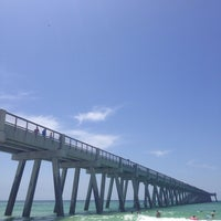 Photo taken at Navarre pier restaurant by Mary Alice V. on 6/16/2014