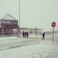 Photo taken at Billings Bridge Station by Suze on 2/27/2013