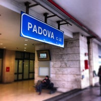 Photo taken at Padova railway station (QPA) by André d. on 1/21/2013