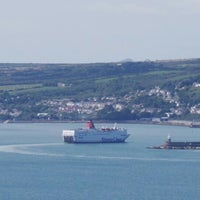 Photo taken at Fishguard Ferry Port by Martien B. on 8/10/2013