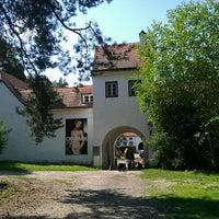 Photo taken at Jagdschloss Grunewald by Jeannette H. on 8/6/2014