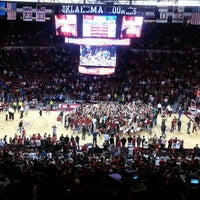 Photo taken at Lloyd Noble Center by 91Jayhawk on 2/9/2013