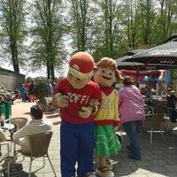 Photo taken at Amusementspark Tivoli by Harry G. on 5/9/2013