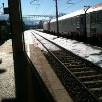 Photo taken at Stazione di Rovereto by grammancino on 12/19/2012