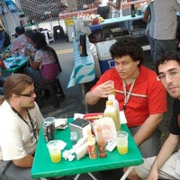 """Photo taken at Feira Livre by Bruno """"felclef"""" A. on 2/17/2012"""