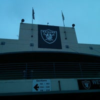 Photo taken at O.co Coliseum by Gabriel C. on 10/27/2013