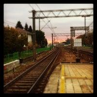 Photo taken at Stazione Caronno Pertusella by Gessica Z. on 11/14/2012
