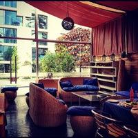 Photo taken at Alberto Restobar & Lounge by Lina J. on 10/20/2012
