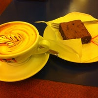 Photo taken at Bottega del Caffè Dersut by Sara C. on 3/4/2014