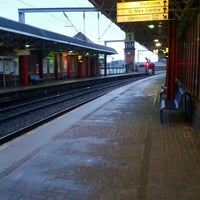 Photo taken at Deansgate Railway Station (DGT) by D on 4/13/2013