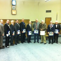Photo taken at Kirkland Masonic Center by David P. on 11/9/2012