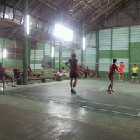 Photo taken at UNKLAB Sport Hall by Timm M. on 10/8/2013