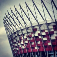 Photo taken at PGE Narodowy by Piotr W. on 4/5/2013
