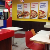Photo taken at Domino's Pizza by Vikii Y. on 9/24/2013
