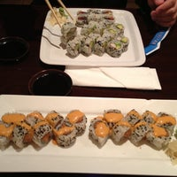 Photo taken at Sushi Island by Jennifer on 1/28/2013