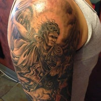 Photo taken at Uptown Tattoo by Brandon L. on 10/17/2012