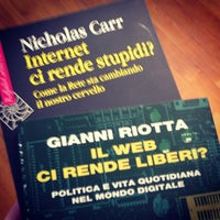 Photo taken at Feltrinelli by Riccardo S. on 2/16/2014