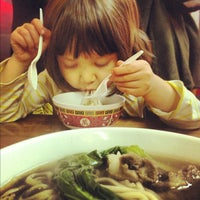 Photo taken at Lam Zhou Handmade Noodle by Charles A. on 12/1/2012